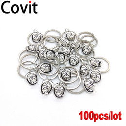 hat keychains wholesale Promo Codes - 100pcs lot Fire Cap Metal Keychains Best Friend Gift DIY Pendant Antique Silver Plated Fireman Hat Men Women Lovers Key Rings