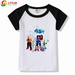 2d3039058ca LYTLM Teen Girls Shirts Steven Universe Tshirt Girl Cartoon Print Baby Boys  T Shirt Roupa Infantil Menina Kids Girls Clothes Top
