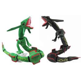 33 pulgadas Pokémon MEGA Super sky dragon Peluches de peluche Suave peluches linda Máquina de agarre Muñeca Para Niños cumpleaños mejor regalo juguetes para niños desde fabricantes