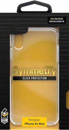 2019 telefonschutz S10 + Symmetry Clear Phone Case Transparente stoßfeste Schutzfolie für iPhone X XR XS Max 7 8 Plus 6s Samsung Galaxy S10 S10E mit Kleinkasten günstig telefonschutz