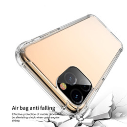Freier weicher Silikon-TPU für iPhone Pro 11 max X XS MAX XR 6 7 8 Airbag Stoß- ultra dünne Abdeckung für Samsung s8 s9 s10 note10 note9 von Fabrikanten