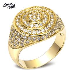 Deutschland Deczign New Band 18 Karat Gold Luxus Frauen Hochzeit Ringe Top Qualität Zirkonia Braut Party Ring Umweltfreundliche Material SJ10366 supplier quality cubic zirconia rings Versorgung