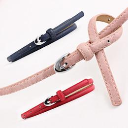 0d556d62c5d3 Cintura donna di lusso per donna design Sottile PU Leather Leather Girdles  Cinghie con cinturino passante Accessori per abito nero marrone SE41  cappotti di ...