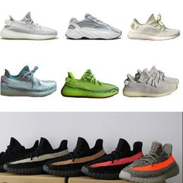 обувь для девочек Скидка новый Статический Отражающий Масло синее олово полузамороженное разводимое Beluga 2.0 Zebra Bred Kanye West Кроссовки мужские кроссовки кроссовки Обувь