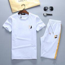 4dd2e48e647020 2019 sss summer new men's sportswear running short-sleeved fashion  sportswear shirt casual sportswear sports strap M-XXXL