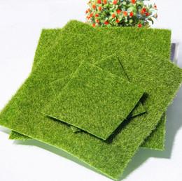 Muschio artificiale di 2 dimensioni per decorazione micro paesaggio Decorazione bottiglia ecologica Creativo False Grass Fairy Accessorio per prato da giardino fai da te da