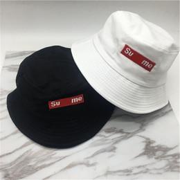 2020 sombreros de moda de verano Unisex Sup Carta Bordado Sombrero de cubo Gorras de visera de verano Mujeres Hombres Sombreros de pesca de diseñador Sombrero de camionero Sombrero de pescador de marca de moda C61208 sombreros de moda de verano baratos