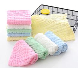 Komprimierte wischtücher online-Baby Musselin Waschlappen Natur Muslin Compressed Baumwolle Baby Wipes Soft-neugeborene Baby-Gesicht Handtuch
