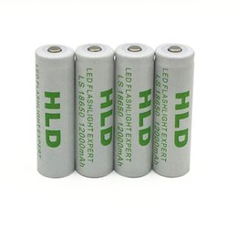 3.7v литий-ионный аккумулятор aa Скидка Фабрика Оптовая 20PCS 18650 батарея 12000mAh 3.7V (не AA / AAA батареи) Литий-ионный аккумулятор для 18650 светодиодный фонарик 18650