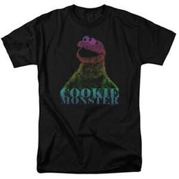 Размер рубашки см онлайн-Улица Сезам CM HALFTONE Лицензированная футболка для взрослых Все размеры