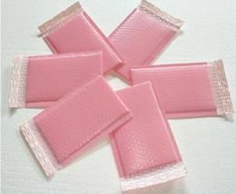 paquete de espacio Rebajas 15x20 + 5 cm Espacio utilizable rosa Envoltura de burbujas de polietileno sobres acolchados Bolso de envío Bolsa de empaque de burbuja de sellado automático