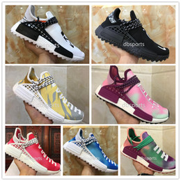 best service 971b5 097a3 scarpe da tennis a buon mercato online Sconti 2018 Adidas NMD Online Human  Race Pharrell Williams