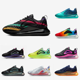 nike Air Max 720 airmax 720 shoes Psychic Powder Black Speckle Pride Spirit Teal Hombres mujeres Zapatos para correr Obsidian Easter Pack Total Orange