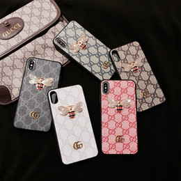 2019 meizu mx5 cover designer de luxo cinco cores caso tampa do telefone abelha para iPhone 6 6s 7 8 8plus para iphone x xr para iphone11 11Pro 11Pro max