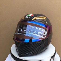 Motocicletas capacetes on-line-Agv capacete pista 70th aniversário motocicleta capacete da motocicleta para ktm capacetes de motocross cascos casco por moto motocicleta casque de moto