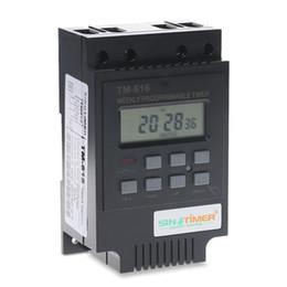 Argentina Interruptor de tiempo programable Tm616 220 v Temporizador de luz de calle Interruptor Horno Controlador de tiempo Timer T190620 Suministro