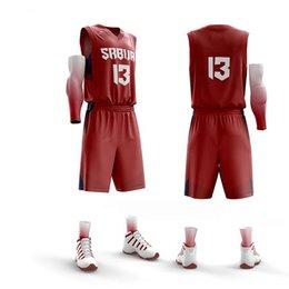 ac00220d53c custom men Women Basketball jerseys Set Female Sleeveless Basketball uniform  Breathable basketball Vest Shorts Sports jersey discount basketball uniforms  ...