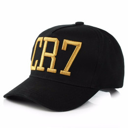 swag hats Coupons - 2017 Cristiano Ronaldo CR7 Baseball Cap classic style hip hop Sports Snapback Football hat chapeu de sol swag Men women