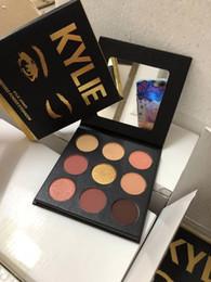 Le plus récent palette de maquillage Marque Kylie shadow La Sorta Sweet Palette 9 couleurs Palette de fards à paupières Haute qualité expédition DHL ? partir de fabricateur