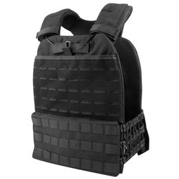 Outdoor Training Tactic Vest Körperschutz Einstellbare Kampfweste Molle Plate Carrierr CS Schutzausrüstung von Fabrikanten