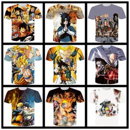 2019 shorts de diversão Japão 3D anime divertido Dragon Ball Sombra de Fogo One Piece TShirts Das Mulheres Dos Homens de Roupas Funning Imprimir T-shirt Dos Homens de Manga Curta Verão Casual T-shi shorts de diversão barato
