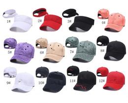 2019 chapeaux ajustables Unisexe UA Baseball Hat Marque Ball Caps Hommes Femmes Designer Snapbacks Visières Réglable Sport Hip-Hop Cap Plage Chapeaux Équipé Sunhat C8510 chapeaux ajustables pas cher