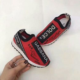 Sapatos de bebê de tecido branco on-line-Original marca baby boy sapatilha moda baby girl sapato rosa cor branca letra F tecido bota menina tecido deslizamento no sapato Eu 26-35
