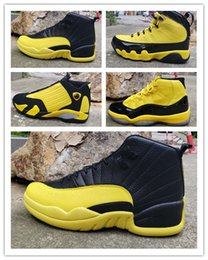 Nuevo 11 9 XI ALTO amarillo negro bajo 12 HOMBRES zapatillas de baloncesto 14 zapatillas deportivas deportivas al aire libre 2019 buena calidad tamaño 7-13 desde fabricantes