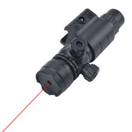Jagd Tactical Outdoor Red Dot Laser Einstellbare Kunststoff Zielfernrohr Weaver Picatinny geändert für 20-23mm Führungsschiene Spielzeugpistole Zubehör von Fabrikanten