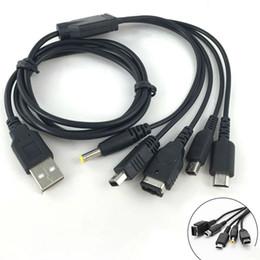 Cable de carga USB para juegos de 115 cm para NDS Lite / Wii U / New 3DS XL LL 2DS para GBA SP / PSP 1000 2000 3000 Cables de cable de cargador desde fabricantes