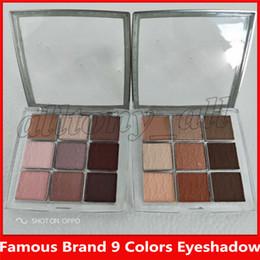 Deutschland Berühmte Marke Augen Make-up-Paletten Backstage Lidschatten-Palette Professionelle Leistung 9 Farben Matt Mult-Finish High Pigment Lidschatten Versorgung