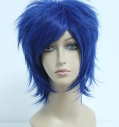 Argentina WIG Nuevo y barato Bleach / Shugo Chara! cheap cheap dark blue wigs Suministro