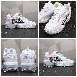 2019 sapatos de senhora para homens 2019 New Sawtooth 2 Disruptores Tênis Para Mulheres Dos Homens Piink Yewllow Branco Zapatillas Senhoras Designer De Luxo Chaussure Esportes Tênis sapatos de senhora para homens barato