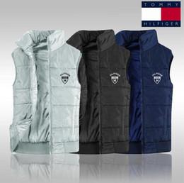Chaleco de hombre polo online-Men's Brand 2019 new Free shipping, new men's PoLo cotton vest sleeveless top XL quilted vest men's vest jacket, XL-4XL 1281#