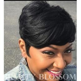2019 6inch бразильские волосы Короткие кружева передние парики человеческих волос бразильские оригинальные волосы 6 дюймов прямая машина сделала кружева перед парик Ангел волна дешево 6inch бразильские волосы