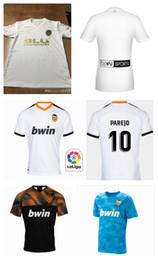 retrocesos de camisetas de fútbol Rebajas Nuevas camisetas de fútbol FUTBOL Camisa Equipacion Del Valencia 2020, Chandal valencia Jersey Valencia CF 18 19 20 Thai Guedes C.Soler Parejo 4XL