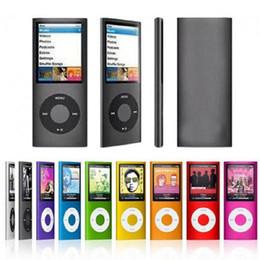 Canada Lecteur MP3 1,8 pouces 16 Go 32 Go Musique avec lecteur vidéo FM Radio Lecteur E-book MP3 avec mémoire intégrée Offre