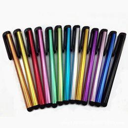 Punto capacitivo Stylus Pen Pantalla táctil Pen Stylus Pen Capacitivo Muy sensible Para ipad Teléfono / iPhone Samsung / Tablet PC Juegos de novedad desde fabricantes