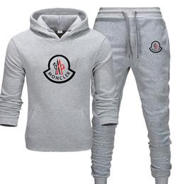 tennisbekleidung für männer Rabatt NEW Satz sweatsuit Designer Anzug für Frauen Männer Hoodies + pants Herrenmode Sweatshirt Pullover beiläufige Tennis Sport Tracksuits Sweat Suits
