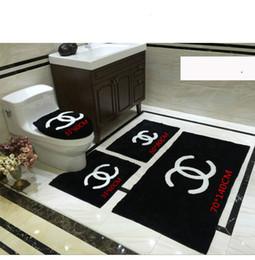 2019 capa de polpa Almofada do assento do vaso sanitário almofada dois ou três conjuntos de inverno espessamento quente nórdicos terno banheiros assento de vaso sanitário de pelúcia a