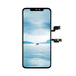 Цены на сенсорный экран iphone онлайн-Заводская цена OEM Оригинал для iPhone XS Макс ЖК-дисплей сенсорный экран с дигитайзером замена сборки бесплатно DHL
