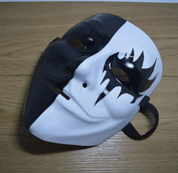 Terrormaske online-Maske Vendetta-Halloween-Party-Geist-Tanz-Masken Halloween Anonymous Terror Masken Fancy Cosplay Full Face Mask V GGA2751