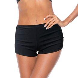 damas pantalones cortos de natación Rebajas 2019 Summer Beachshort Swim Boardshort Shorts para mujer Trajes de baño Trajes de baño Shorts Ladies Bottom