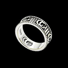 2019 Нового поступление 316L титан стал кольцо способа 18K серебро гальванических женщин и мужчина оригинальной бренд кольцо подарок ювелирных изделий от