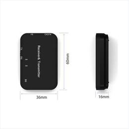 atualização de caixa de tv android Desconto B9 Receptor Transmissor de Áudio Sem Fio Bluetooth 3.5mm AUX HIFI Adaptador de Música para Built-in avançado circuito de transmissão de sinal