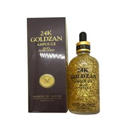 essenz make-up Rabatt New Make-up Skinature 24k Goldzan Ampulle Gold Day Creams Feuchtigkeitscremes Gold Essence Serum Make-up Primer 100ml