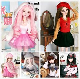 Canada Fashion Style 1/3 BJD Doll 56cm sexe adulte femelle La poupée mobile à articulation en plastique comprend les vêtements et les chaussures de poupée Offre