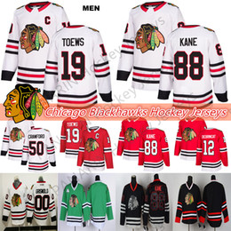 2020 clark griswold hockey jersey Chicago Blackhawks Jersey 19 Toews 88 Kane 2 Duncan Keith 12 Alex DeBrincat 50 Corey Crawford 00 Clark Griswold Hockey-Trikots rabatt clark griswold hockey jersey