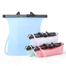Argentina Bolsas de almacenamiento de alimentos de silicona respetuosas con el medio ambiente y reutilizables Snacks Container BPA Free: Sous Vide Bags Carne Congelador de verduras y frigorífico Paquetes de almacenamiento Suministro