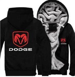 Araba Logolar Dodge hoodie Baskı Rahat Pamuk Kalınlaşmak Hoodies Unisex Kazak Fermuar Ceket Adam Kadın Hoody Streetwear Spor Ceket ABD, AB Boyutu nereden